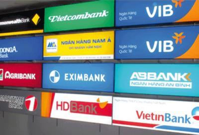 Bảng hiệu hộp đèn ngân hàng