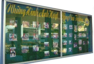 Bảng thông báo nhà trường