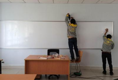 Bảng viết xóa trường đại học