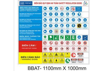 Biển báo quy định an toàn