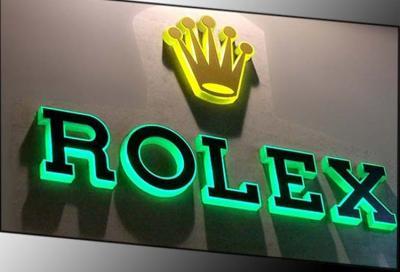 Chữ nổi- đèn Led âm  Rolex