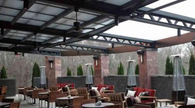 Mái che nắng mưa nhà hàng