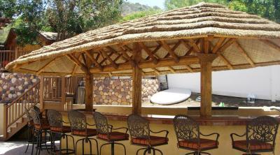 Mái che quán cà phê vườn